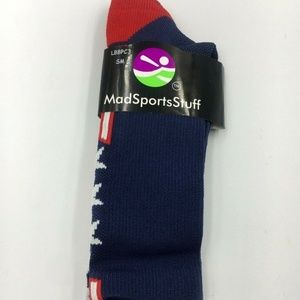 USA Stars Stripes Red White Blue Socks Youth S/M